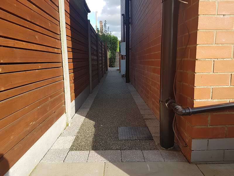 Cheadle Resin Path and Fence