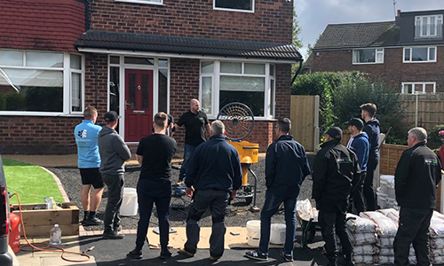 Resin Bound Driveway Training - Onsite Demonstrations
