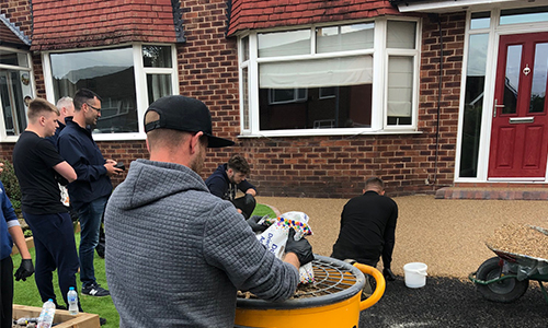 Resin Bound Driveway Training - Do it yourself