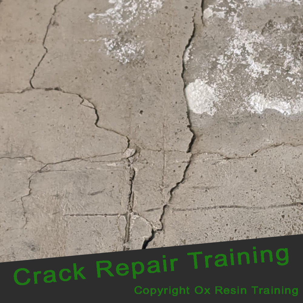 Epoxy Resin Training - Crack Repair Training