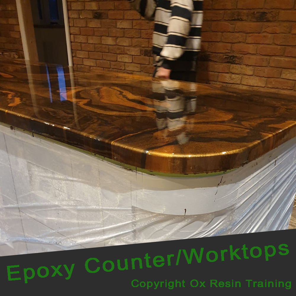 Epoxy Training - Epoxy Worktop