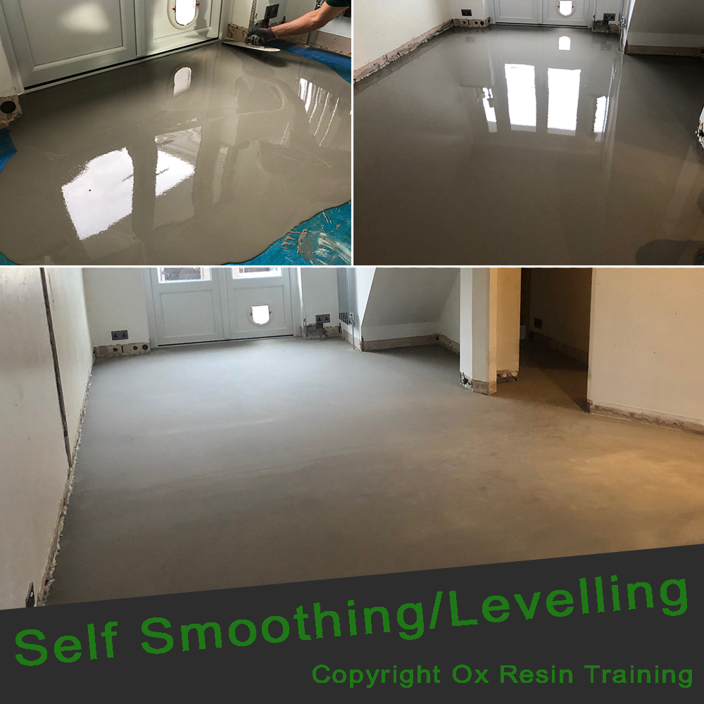 Epoxy Resin Training - Self Levelling