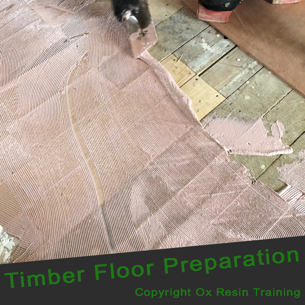 Epoxy Resin Training - Timber Floors Preparation